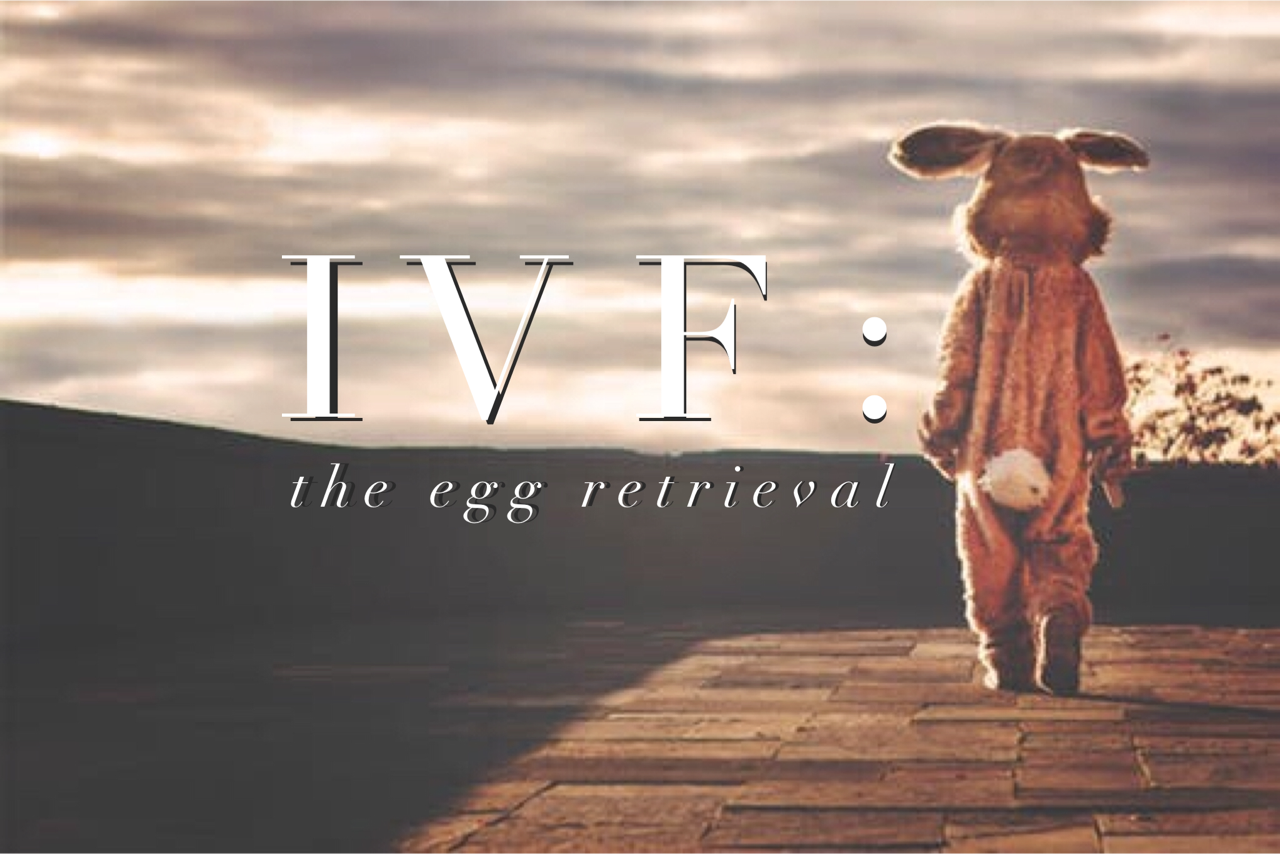 egg, retreavel, retrieval, ivf, olive fertility, easter, baby, infertility, socialdad, dad blog, father, parenting,