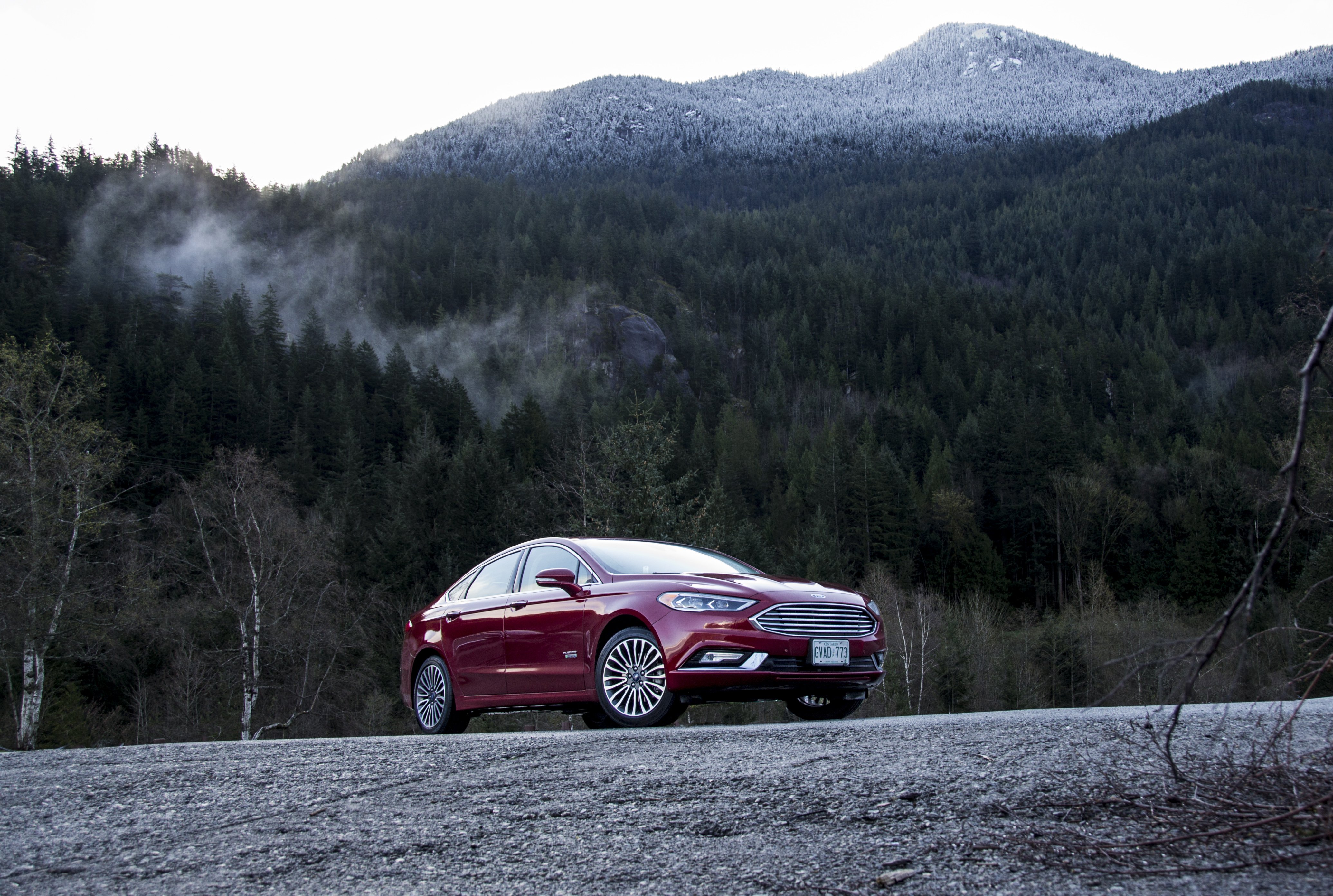 hybrid car, ford car, fusion, enerji, energy, car, car for managers, ford hybrid, 2017, red, burgundy, mountains, ford canada, fordlivegreen, ford cars, fusion, review,