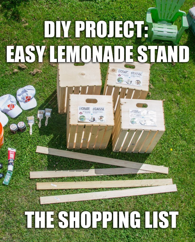 how to build a lemonade stand
