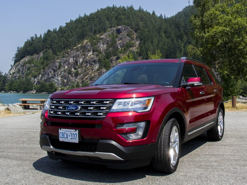 2017 Ford Explorer Review, Canada, Ford Canada,