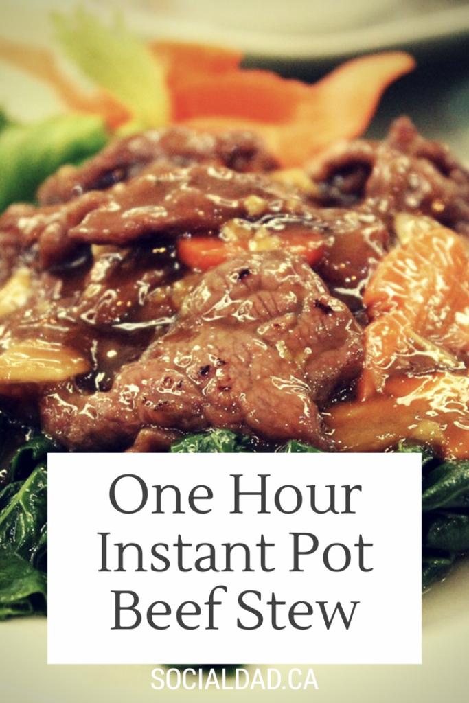 instant pot beef stew recipe,