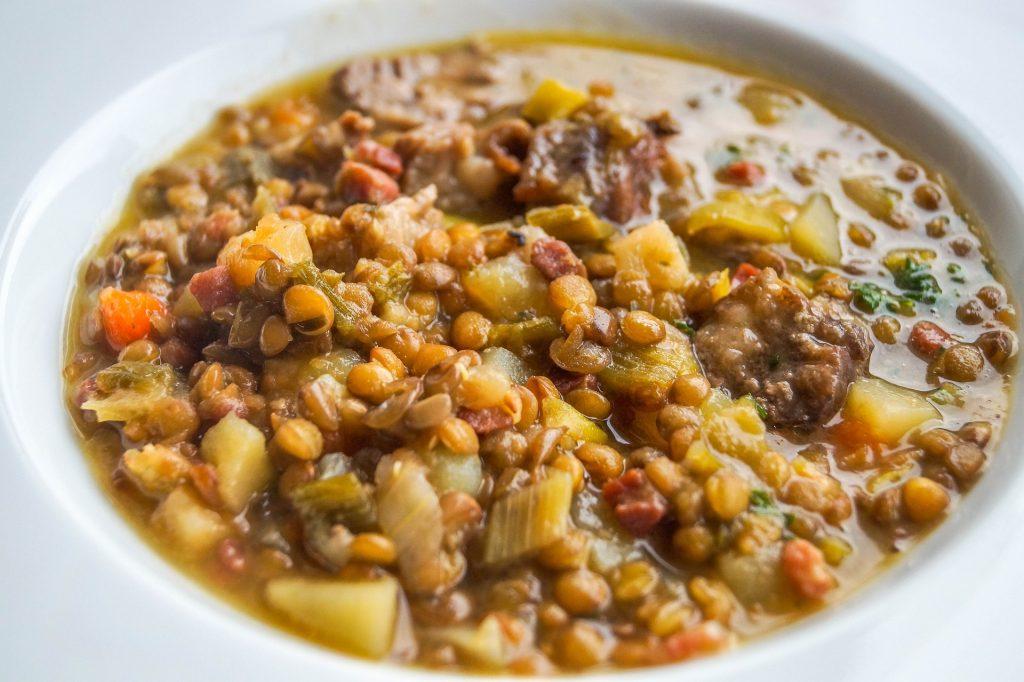 Instant Pot recipes, lentil soup recipe, instant pot lentil soup