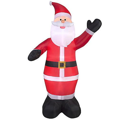 inflatable christmas decorations, socialdad, vancouver dad, dad blog, canada blog, canada dad blog